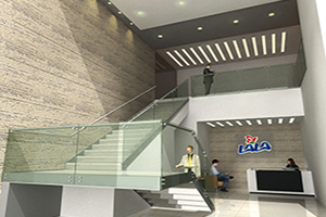 Render de proyecto LALA diseñado diseñado por grupo CCEIC
