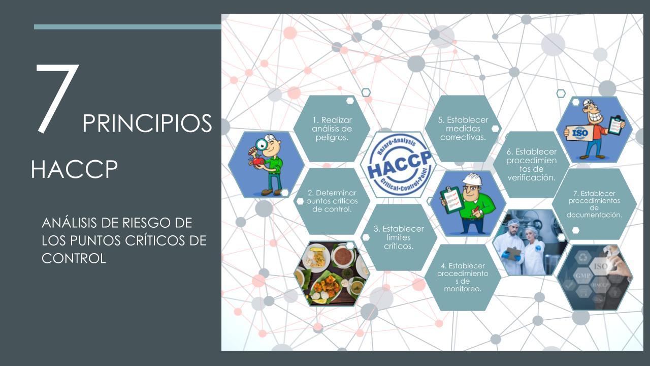 HACCP los 7 principios, Grupo CCEIc nos especializamos en construir plantas de alimentos.